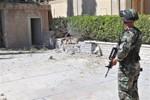 Đạn pháo rơi trúng đại sứ quán Trung Quốc tại Syria