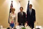 Mỹ - Nhật - Úc bày tỏ lo ngại về hoạt động của hải quân Trung Quốc