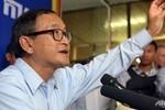 """Sam Rainsy đi Mỹ """"cầu viện"""", Washington từ chối chứng thực"""