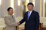 Tổng tham mưu trưởng Myanmar từ TQ trở về, 2 bên bàn chuyện Biển Đông