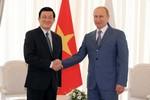 Tổng thống Putin: Nga-Việt cùng đi tới những chân trời hợp tác mới