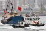 Tàu cá Hồng Kông 4 lần tìm cách xâm phạm Trường Sa không thành