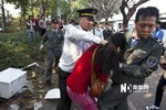Dân phòng vô cớ đánh phụ nữ hơn 10 cái bạt tai