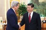 Tập Cận Bình nói với John Kerry, ông muốn đối thoại với Mỹ