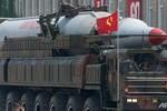 Bắc Triều Tiên bắn thử 4 tên lửa tầm ngắn