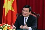 Chủ tịch nước Trương Tấn Sang: Việt-Nhật hợp tác an ninh hàng hải