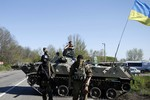 Quân đội Ukraine bắt đầu bao vây, cô lập Slaviansk