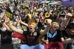 Sinh viên phản đối dữ dội, hiệp định kinh tế Trung - Đài đóng băng