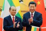 Trung Quốc ve vãn Tổng thống Myanmar ủng hộ ở Biển Đông bất thành