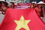 Người Việt phản đối Bắc Kinh bành trướng Biển Đông trên đất Hồng Kông