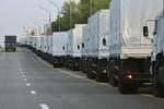 Xe tải Nga dừng ở căn cứ không quân, Ukraine đòi dỡ hàng tại biên giới