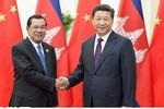 """Trung Quốc viện trợ 700 triệu USD/năm, Campuchia sẽ ủng hộ """"chủ quyền"""""""