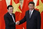 Việt - Trung đồng ý giải quyết bất đồng trên biển thông qua đối thoại