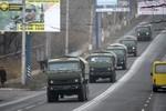 """Mỹ, EU lo ngại đội quân """"lạ"""" chi viện phe ly khai ở miền Đông Ukraine"""