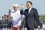Trung Quốc ký 20 thỏa thuận hợp tác 8 tỉ USD với Myanmar