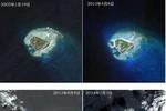 Báo Trung Quốc: Đảo Phú Lâm, Hoàng Sa đã tăng kích thước thêm 40% sau 1 năm