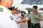 Tập Cận Bình, Dương Khiết Trì trực tiếp chỉ đạo các chiến hạm trên biển