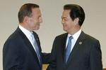Lãnh đạo Việt-Úc kêu gọi kiềm chế ở Biển Đông, tăng hợp tác quốc phòng