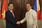 """""""Việt Nam và Philippines nhanh chóng xây dựng quan hệ đối tác chiến lược"""""""