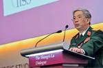 Tướng Vịnh lên tiếng về thông tin Trung Quốc kéo pháo ra Trường Sa