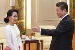 Tập Cận Bình nói gì với bà Aung San Suu Kyi?