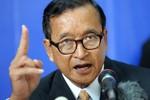Sam Rainsy có gần 2 thập kỷ chống phá Việt Nam