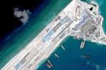 Trung Quốc lại bay thử bất hợp pháp ở đá Chữ Thập