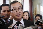 Sam Rainsy tiếp tục chống phá biên giới Việt Nam - Campuchia