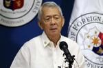 Tại sao Ngoại trưởng Philippines bác đề xuất của ông Vương Nghị?