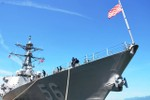 2 tàu quân sự Mỹ thăm cảng Quốc tế Cam Ranh