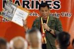 """""""76% dân Philippines hài lòng với Tổng thống Rodrigo Duterte"""""""
