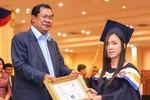 Ông Hun Sen bình luận về khả năng đụng độ Trung - Mỹ ở Biển Đông