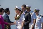 """Thời báo Hoàn Cầu nói Trung Quốc """"cảnh giác, không vui"""" khi tàu Mỹ đến Việt Nam"""