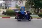 """Video: """"Đã mắt"""" với dàn môtô """"khủng"""" trên đường phố Thái Nguyên"""