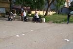 Sở Giáo dục Thanh Hóa phủ nhận việc phao thi vứt trắng ở cổng trường