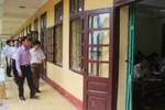 Một số thí sinh ở Thanh Hóa bị đình chỉ thi vì vi phạm quy chế thi