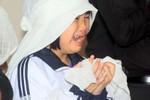 """Đẫm nước mắt đám tang bệnh nhân chết """"bất thường"""" tại BV Lao Phổi TƯ"""