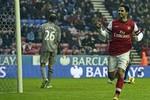 Wigan 0-1 Arsenal: Khủng hoảng gì? Arsenal đã trở lại Top 4