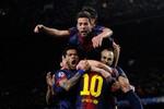 Barcelona 4-0 Milan: Messi lập cú đúp, Nou Camp vẫn bất khả chiến bại