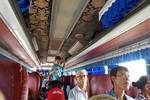 Xe khách chạy tuyến Hải Phòng - Hà Nội đăng kiểm 29 chỗ, chở 51 người