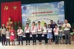 Hải Phòng trao 200 cặp sách cho học sinh nghèo vượt khó