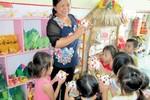Cô giáo mầm non chiến thắng bệnh hiểm nghèo, vươn lên dạy tốt