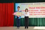Học sinh Quảng Ninh vô địch hội thi Olympic tiếng Anh toàn quốc
