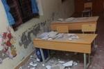 Cấp bách sửa chữa dãy phòng học xuống cấp khiến 3 học sinh nhập viện