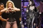 'Thảm họa' ăn mặc Madonna, Lady Gaga, Mariah Carey
