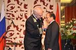 Bộ trưởng Hoàng Tuấn Anh nhận Huân chương Hữu nghị Liên bang Nga