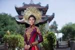 Quốc phục của Trương Thị May sau lọt top 3 HHHV mặc bikini đẹp nhất
