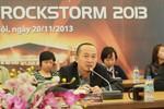 """Rock Storm 2013: Không định """"dìm"""" nghệ sĩ Việt"""