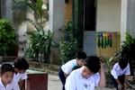 Rò rỉ ảnh Psy nhí về Việt Nam học tiểu học