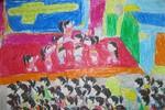 Tranh dự thi của Phương Thảo, lớp 3A2, Tiểu học Đồng Nhân (MS:337)
